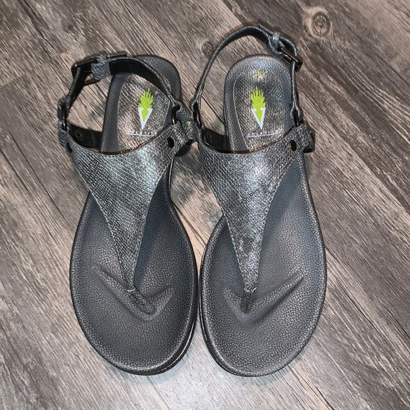 Women's Volatile Charcoal Gray Sandals
